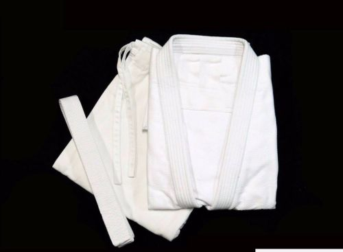 Judo Kimonos Professional White GI Best Uniform 100/% Cotton Complete Uniform